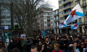 O pobo galego sae á rúa contra a ditadura financieira