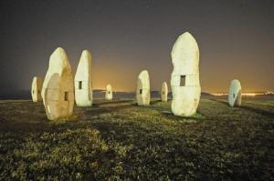 Menhires.Paseo_marítimo_A_Coruña