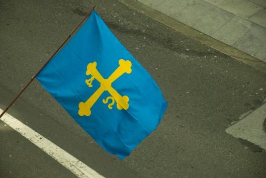 Os mariñeiros asturianos sumáronse á protesta en solidaridade co cerco galego por unhas cotas de pesca xustas