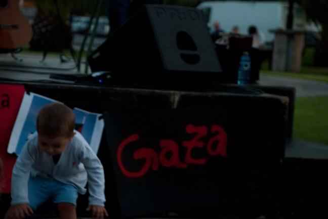 Todos choramos por Gaza, a historia xulgará aos xenocidas...