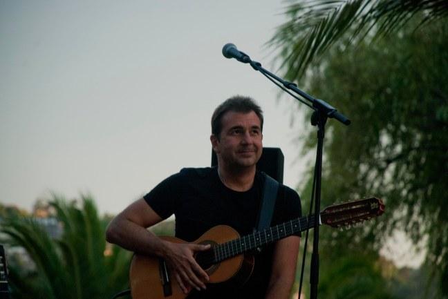 O compositor brasileiro Sergio Tannus