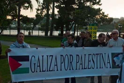 Oleiros con Gaza