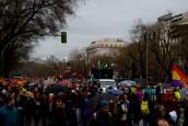 18:00 Las Marchas llegan a la Plaza de Colón